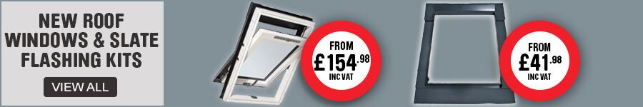 New Roof Windows & Slate Flashing kits