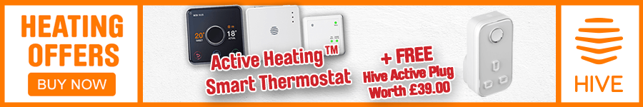 Heating Offers - Hive Smart Thermostat and Free Plug