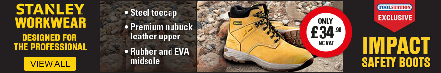 Stanley Workwear - Impact Safety Boot Exclusive