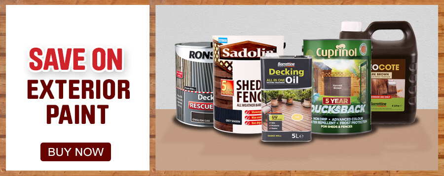 Save on Exterior Paint
