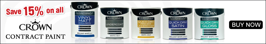 """Save 15% on all Crown Contract Paint"""" width="""