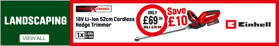Landscaping - Save £10 on Einhell Hedge Trimmer
