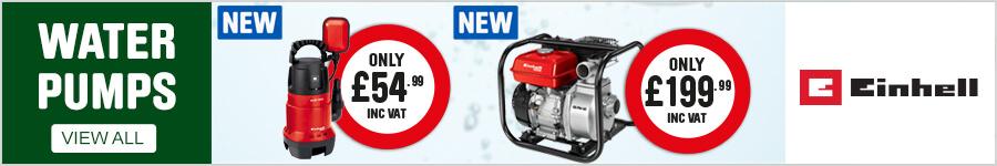 New Einhell Water Pumps