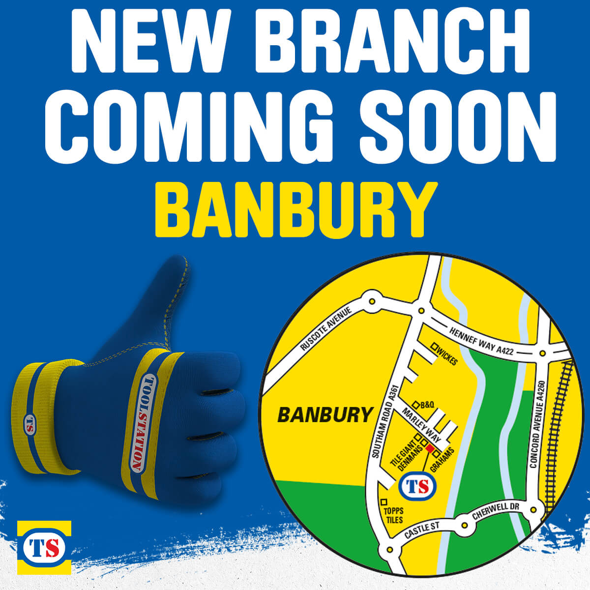Banbury Toolstation Coming Soon