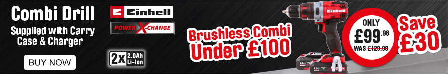 Brushless combi Drill under £100