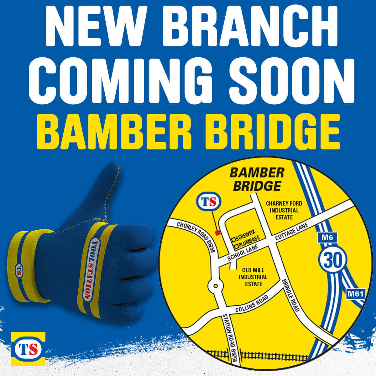 Bamber Bridge Toolstation Coming Soon
