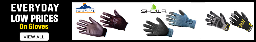 Everyday low prices on gloves