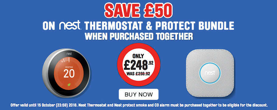 save £50 on Nest Thermostat & Project Bundle when purchased together