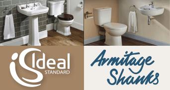 Armitage Shanks. Ideal Standard