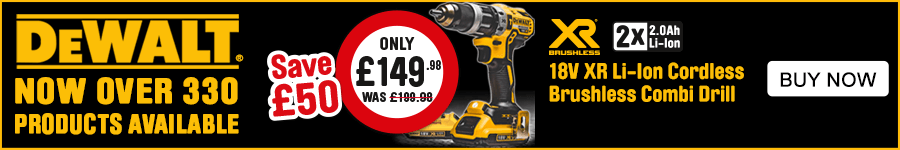 Dewalt Now Over 330 Products Available