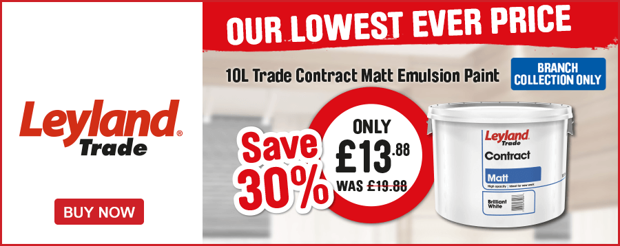 Leyland. Our Lowest Ever Price. Save 30% on 10L Only £13.88