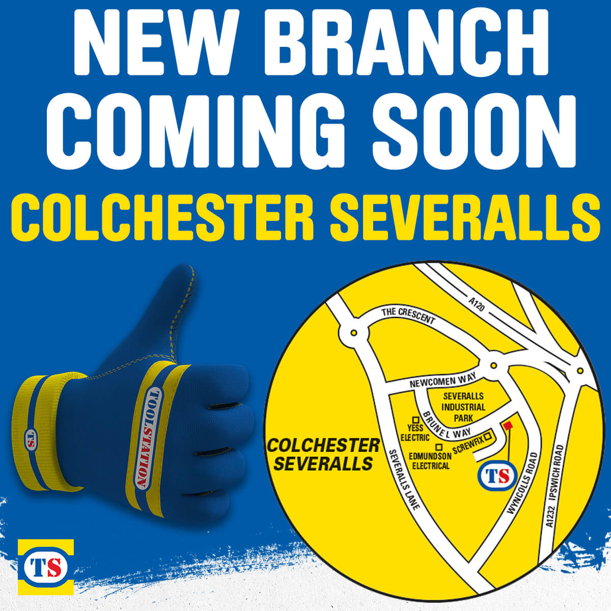 Colchester Severalls Toolstation Coming Soon