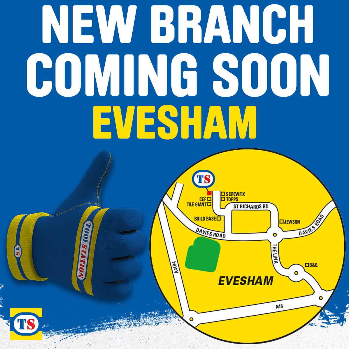 Evesham Toolstation Coming Soon