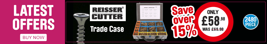 Latest offers. Save over 15% on Reisser Cutter Trade Case. Only £58.98