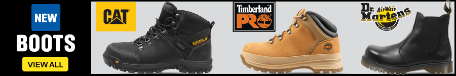 New Boots. CAT, Timberland, Dr Martens and more