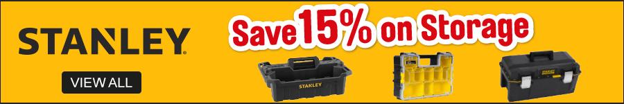 Stanley Save 15% on storage