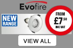 Evofire. New range from £7.50