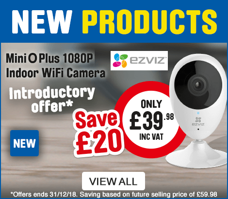 New Products. Ezviz MiniOPlus 1080P Indoor Wifi Camera. Only £39.98.