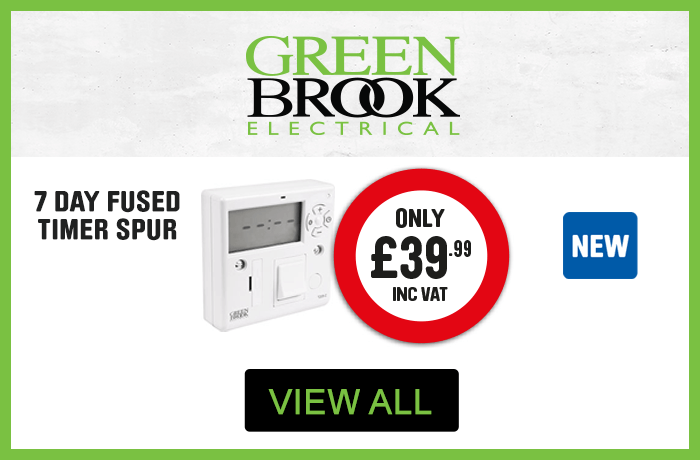 Green Brook Electrical. Only £39.99 for 7 Day Fused Timer spur