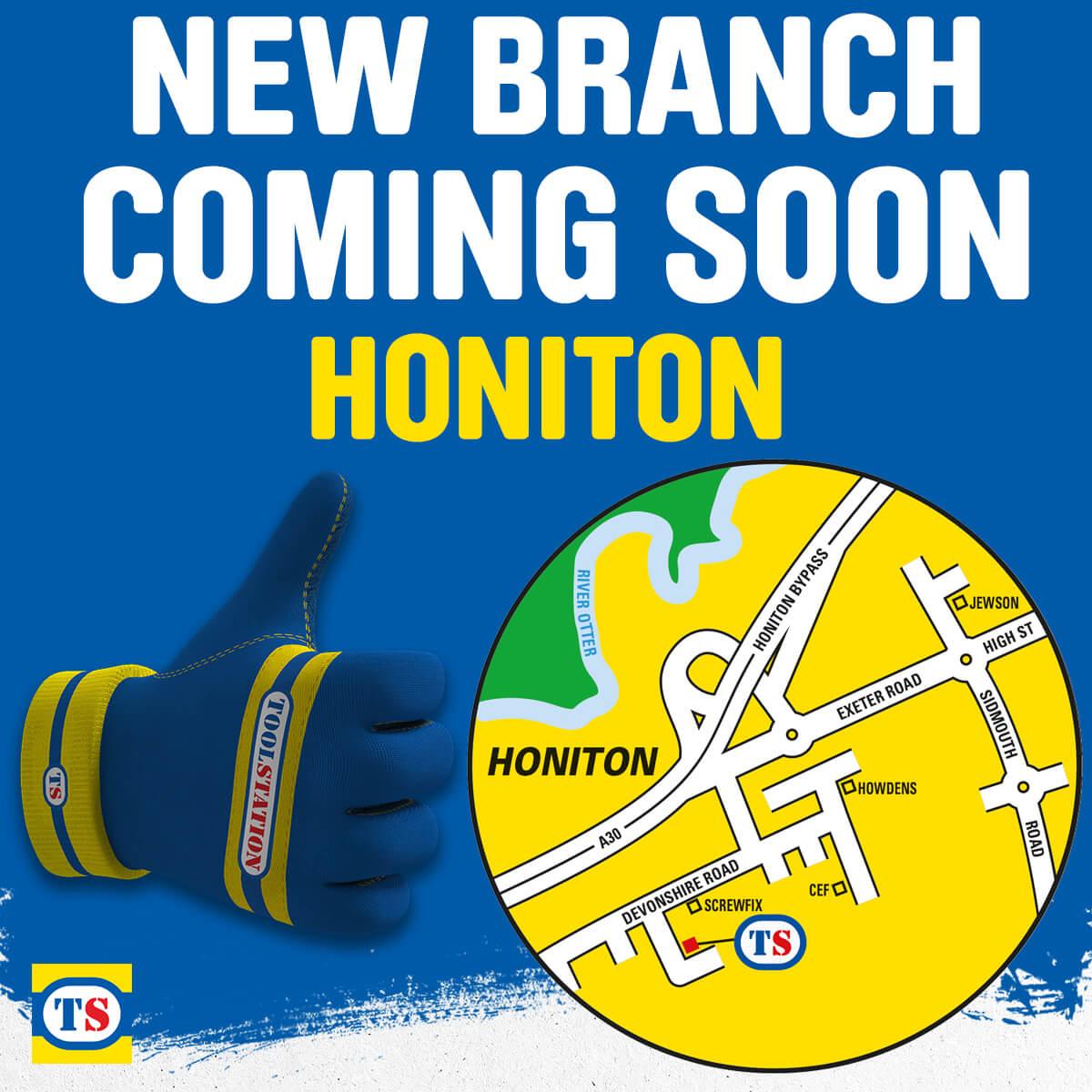 Honiton Toolstation Coming Soon