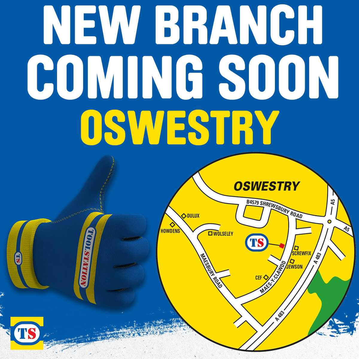 Oswestry Toolstation Coming Soon