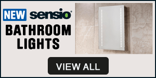 New Sensio Bathroom Lights