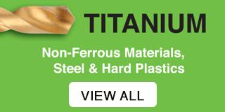 Titanium - Non-Ferrous materials, steel and hard plastics.