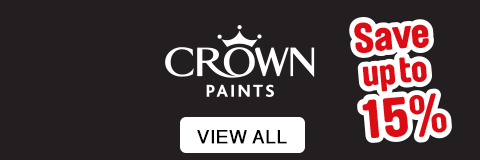 Crown Paint - Save up to 15%