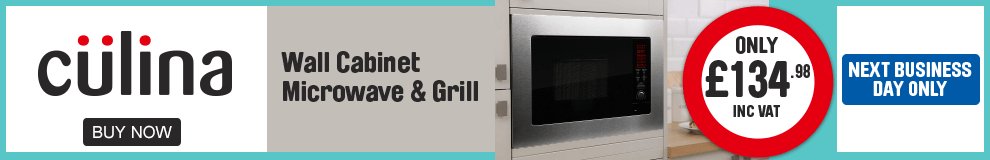 Culina. Wall Cabinet Microwave & grill only £134.98