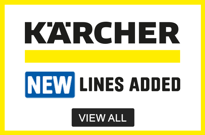 Karcher. New lines Added. View all