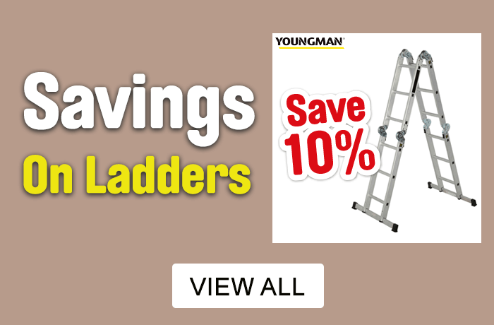 Save 10% on ladders. View all