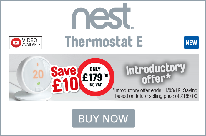 Nest Thermostat E - Introductory Offers