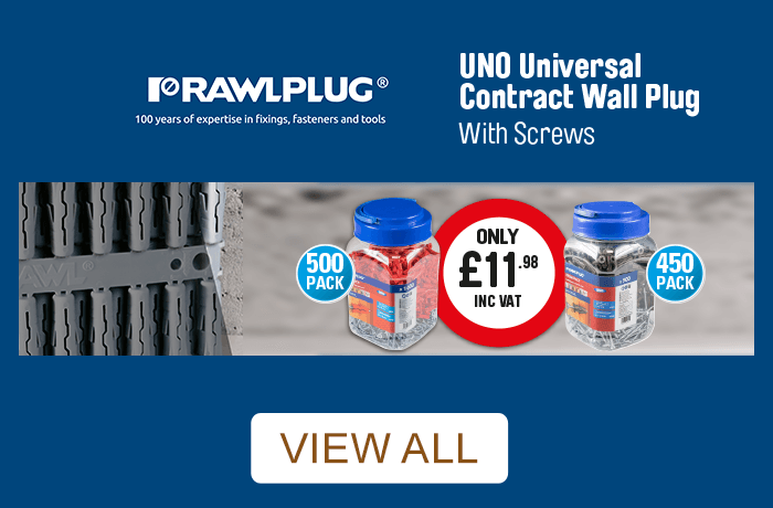 Rawlplug. 100 years of expertise in fixings, fasteners and tools. View all