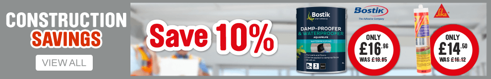 Save 10% on Construction. View all