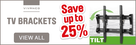 Save up to 25% on TV brackets. View all