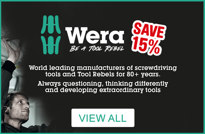 Save 15% on Wera. View all