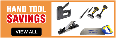 Hand Tools savings. View all