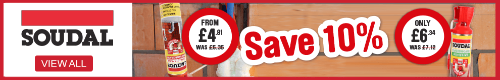Save 10% on soudal. View all