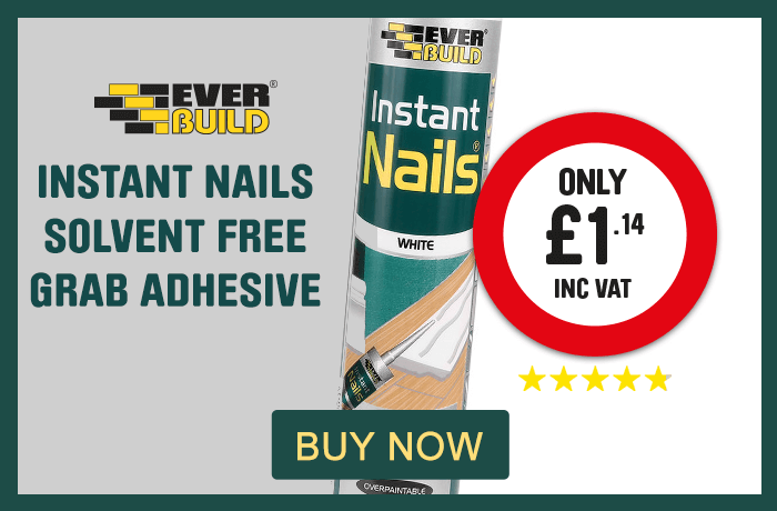 Instant Nails Solvent Free Grab Adhesive. Only £1.14. Buy Now