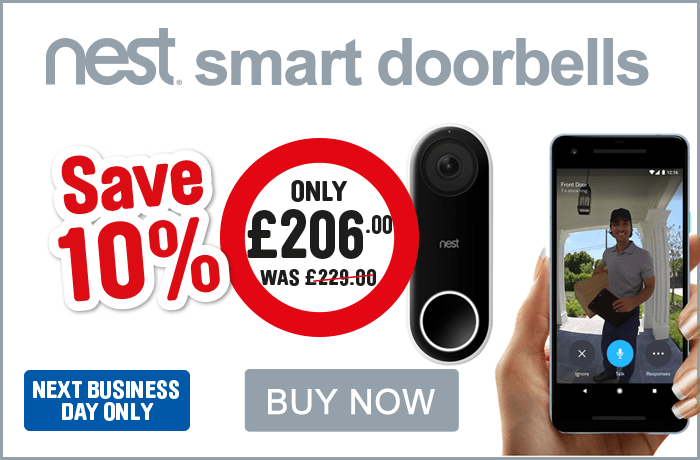 Save 10% on Smart Doorbells. View all