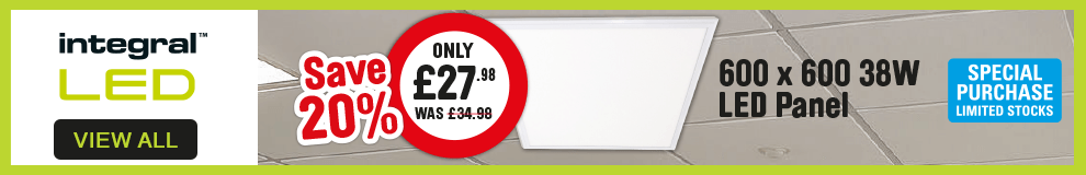 Integral LED. LED Panel. save 20%. View All