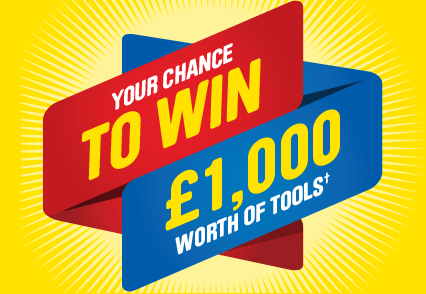 Toolstation your chance to win £1,000 worth of tools