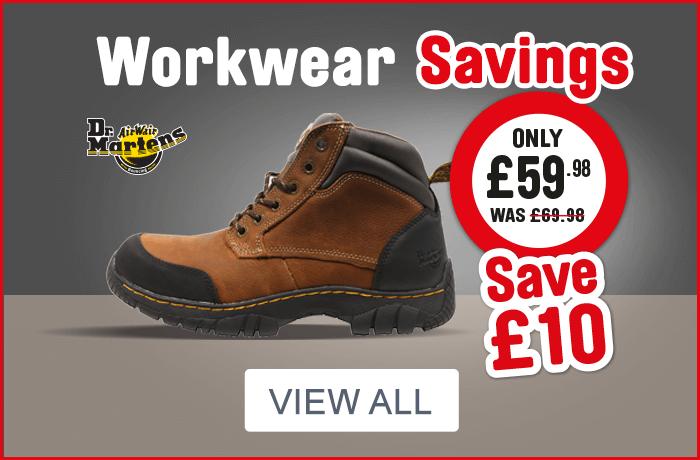 workwear savings. view all.