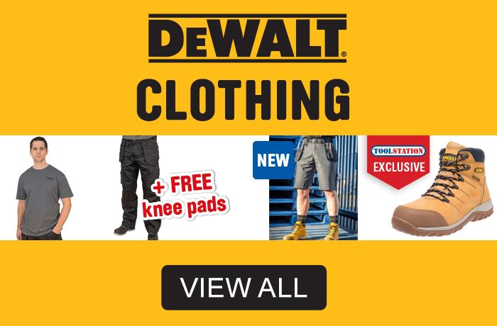 Dewalt clothing - view all.