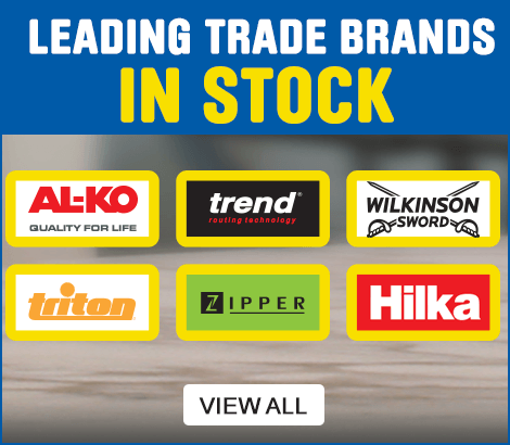 New trade brands now in stock. View all