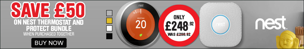 nest bundle. Save £50 on Nest thermostat and protect bundle. Buy now