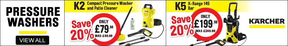 Pressure Washers. View All