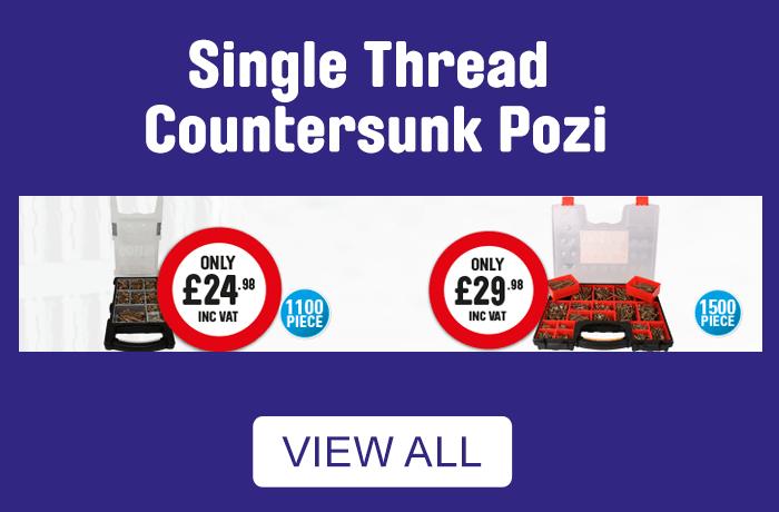 single thread countersunk pozi - view all.