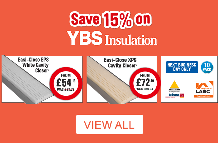 Save 15% on YBS Insulation. View all