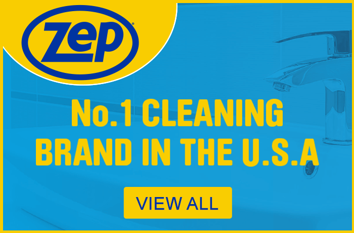 Zep. No.1 cleaning brand in the USA. View all